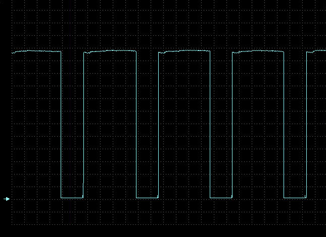 Hall sensor waveform