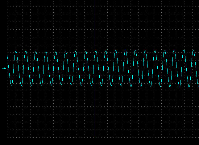 Waveform from the CKP.