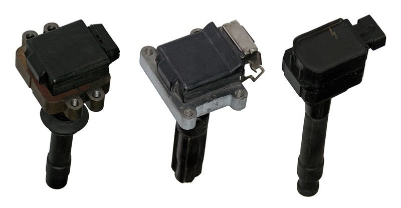 Compact individual ignition coils.